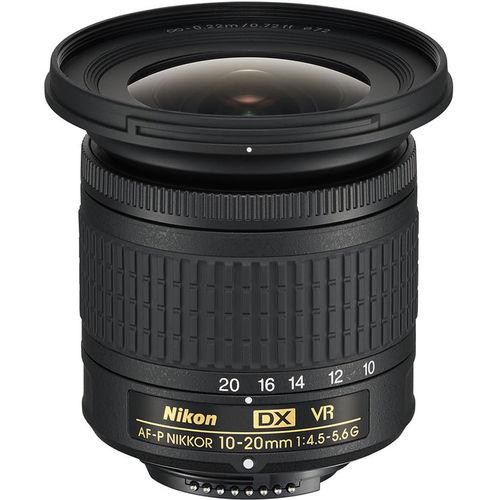 ניקון עדשה Nikon AF-P DX 10-20mm f/4.5-5.6G VR