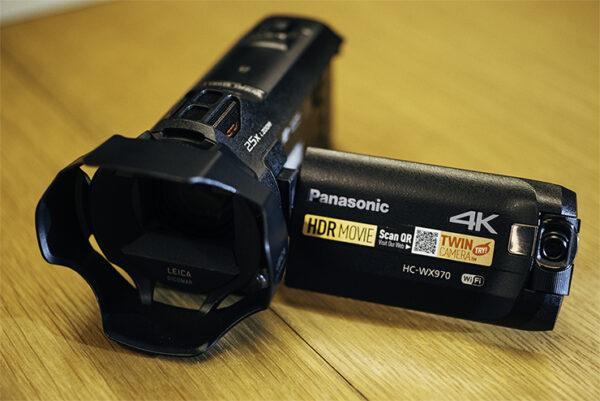 """מצלמת וידיאו +סוללה רזרבית  Panasonic  WX970K 4K מחיר מיוחד ש""""ח660ש""""ח לשבוע"""