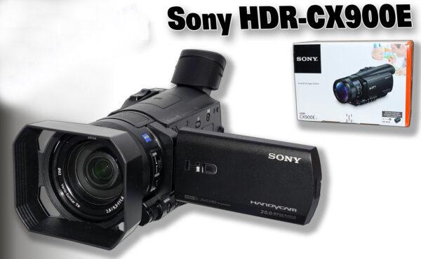 סוני מצלמת וידיאו מעולה Sony HDR-CX900E Full HD מחיר מיוחד לשבוע 949