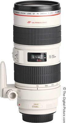 עדשה לקנון Canon EF 70-200mm f/2.8L IS II