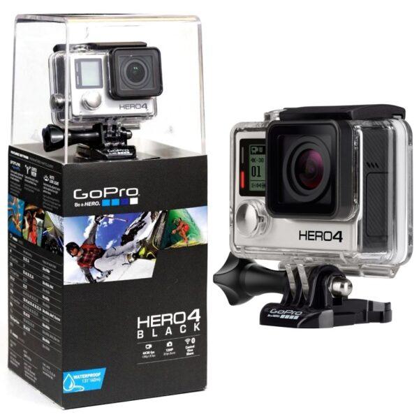 """מצלמת גו פרו אקסטרים         מבצע 300 ש""""ח לשבוע             GoPro HERO 4 BLACK"""