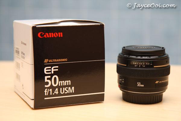 עדשה 50 Canon EF 50mm f/1.4 USM קנון