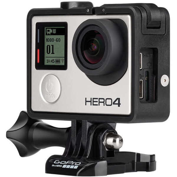 """מצלמת גו פרו אקסטרים   מבצע 250 ש""""ח לשבוע  GoPro HERO 4 SILVER"""