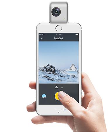 מצלמת 360 insta nano