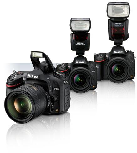 מצלמת ריפלקס DSLR  Nikon D610+עדשה 24-70 F2.8 +מבזק פלש SB910