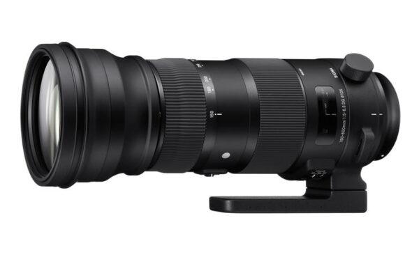 עדשה סיגמה   Sigma 150-600mm F5-6.3 DG OS HSM SPORT ניקון   וקנון
