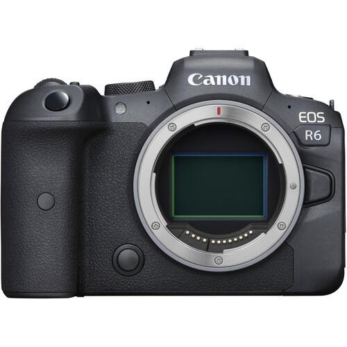 מצלמת קנון גוף בלבד Canon EOS R6 כולל מתאם לעדשות EF